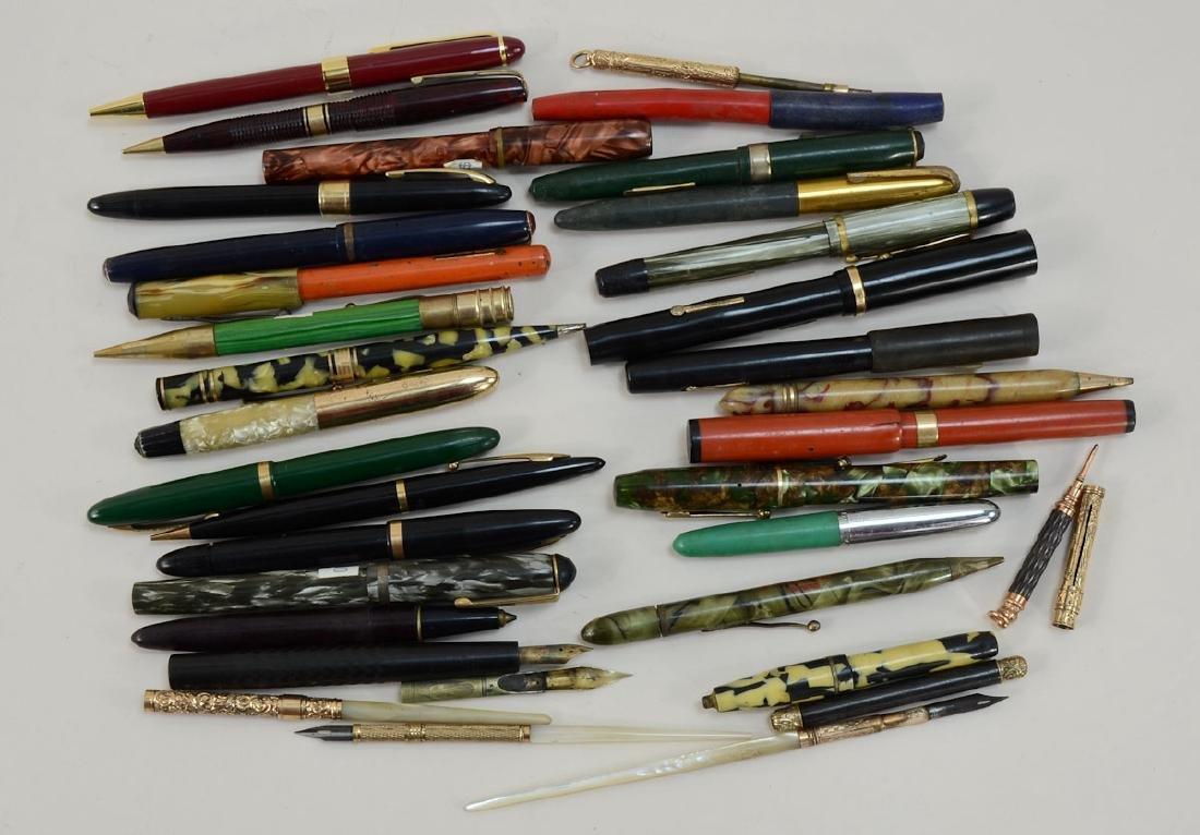 Antique & Vintage Fountain Pens & Pencils