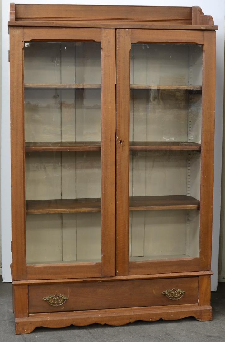 American Glass Door Bookcase