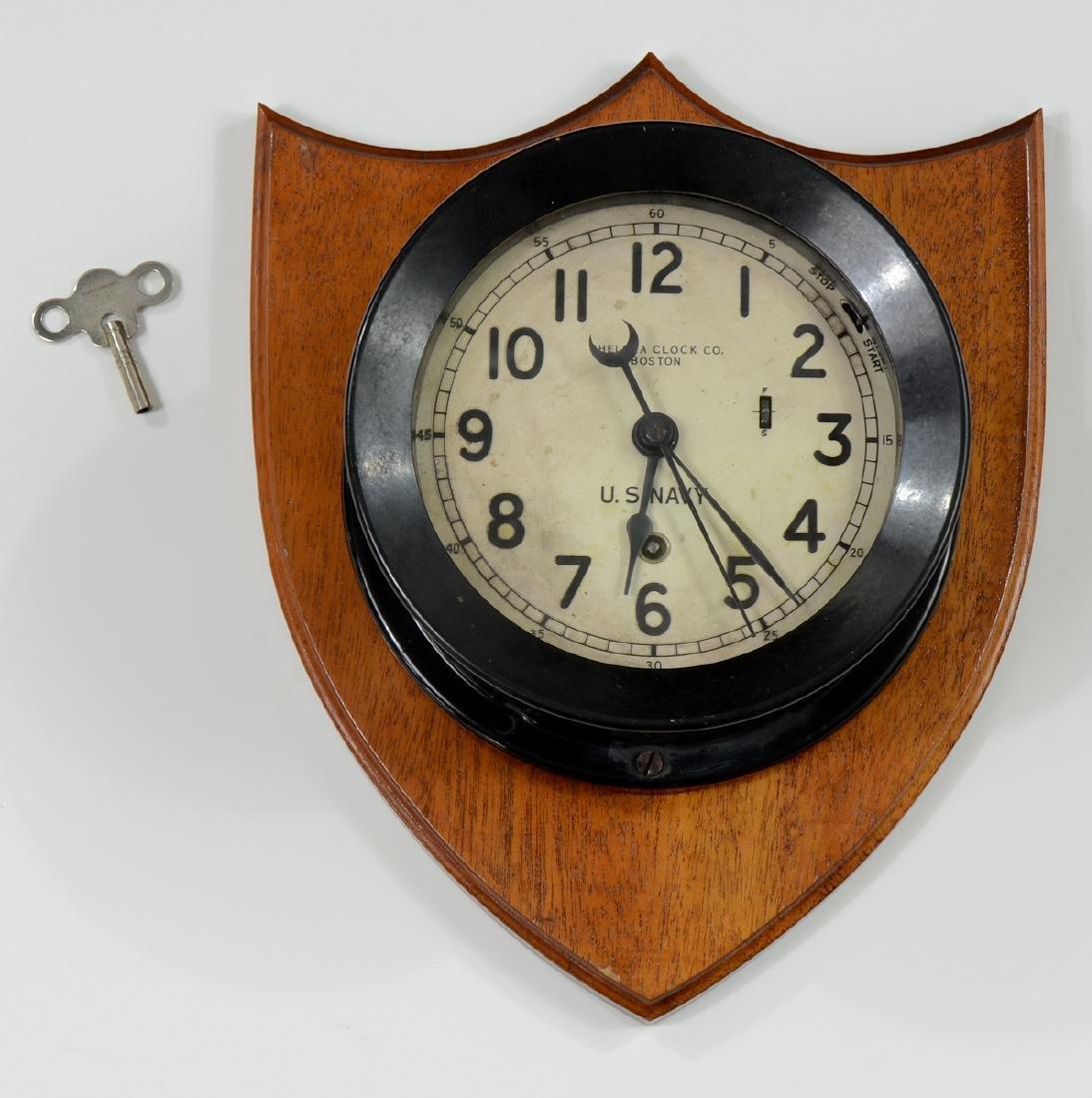 Chelsea US Navy Ships Clock