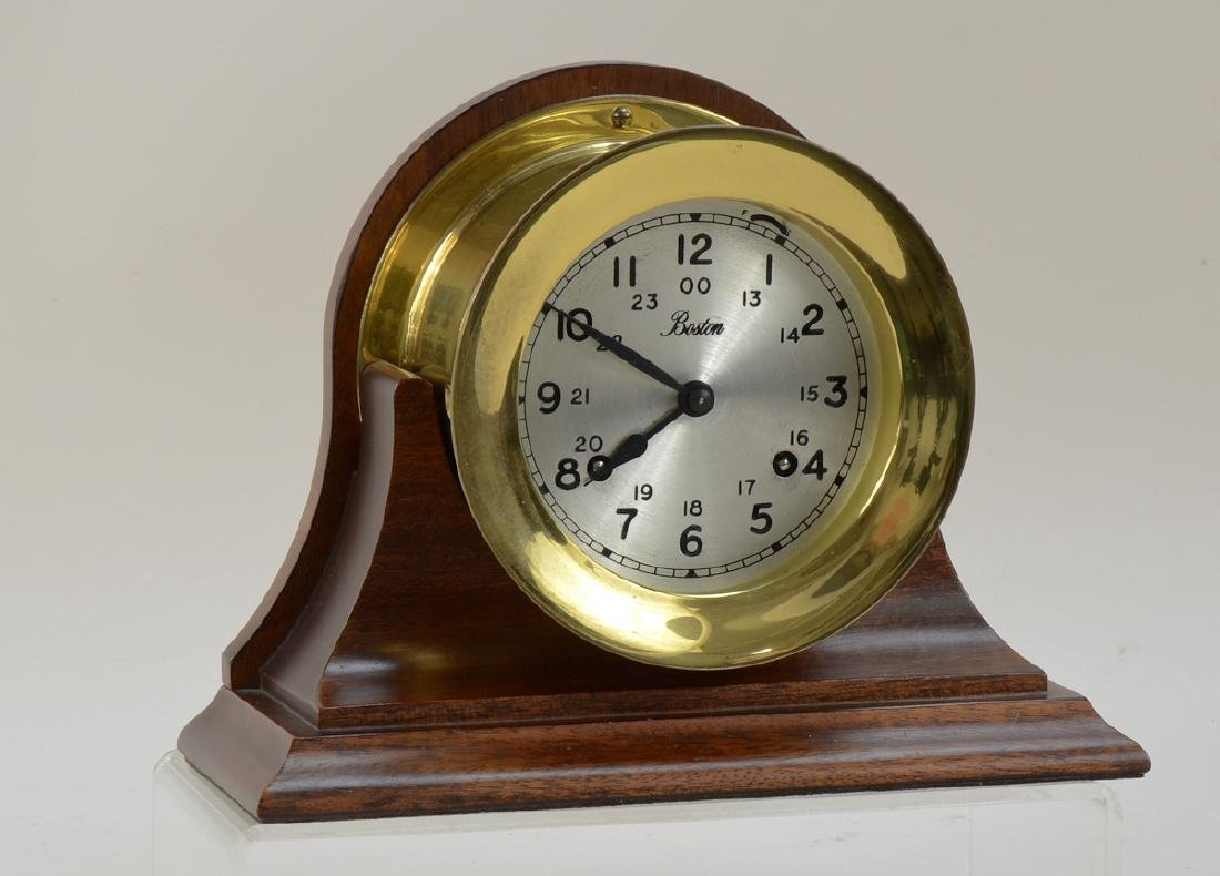 "Chelsea ""Boston"" Brass Ships Bell Clock"