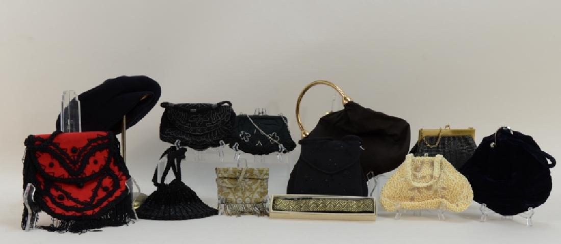 Ten Ladies Vintage Fashion Purses