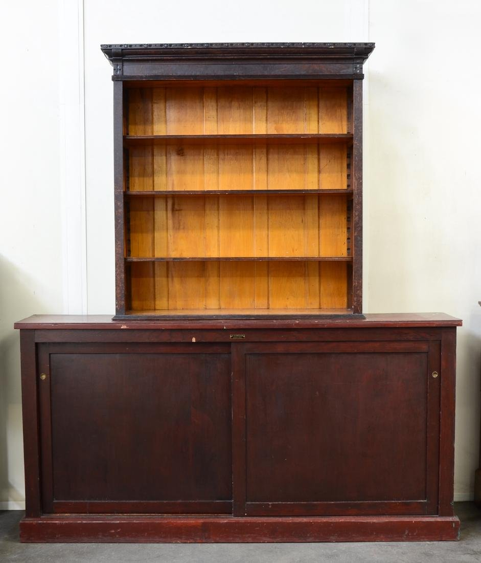 Country Store Cabinet and Shelf