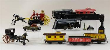 Marx Trains and other toys