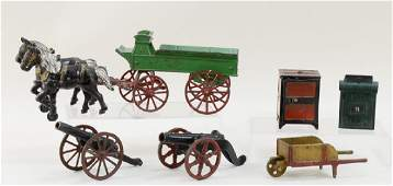Cast Iron Toys and Banks