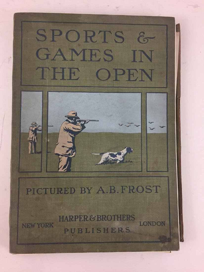 A.B. Frost Sports and Games in the open
