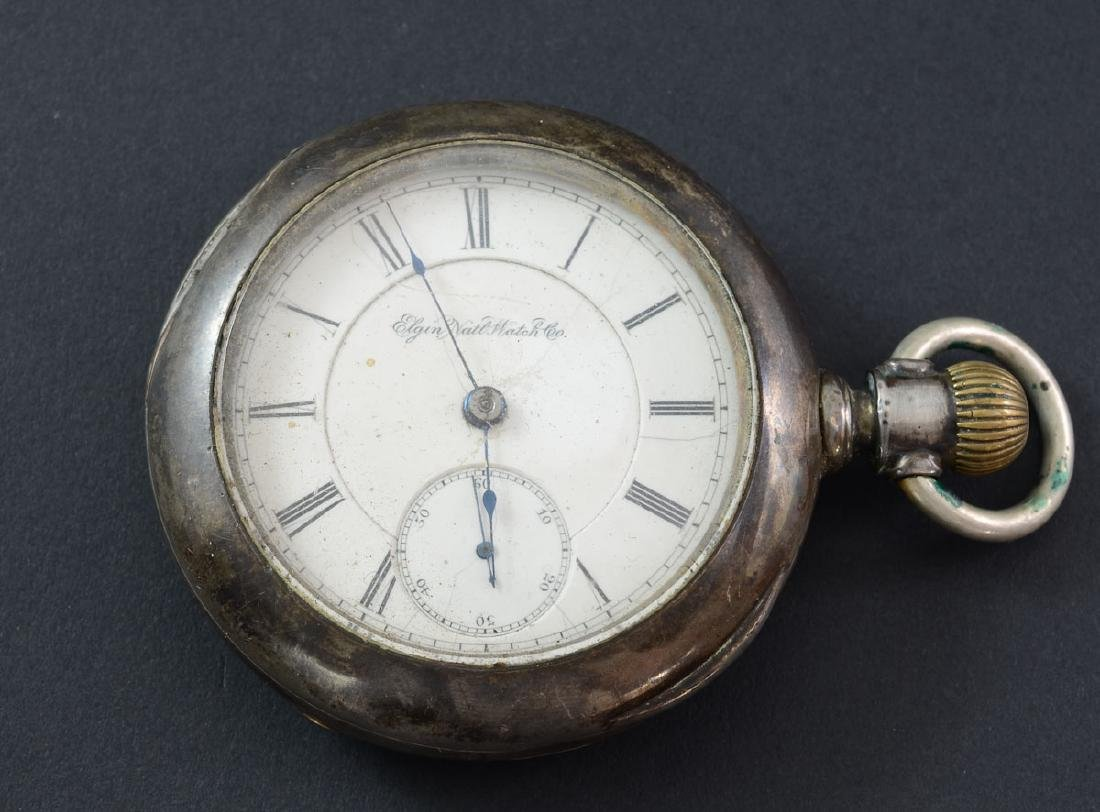 Elgin Coin Silver Pocket watch
