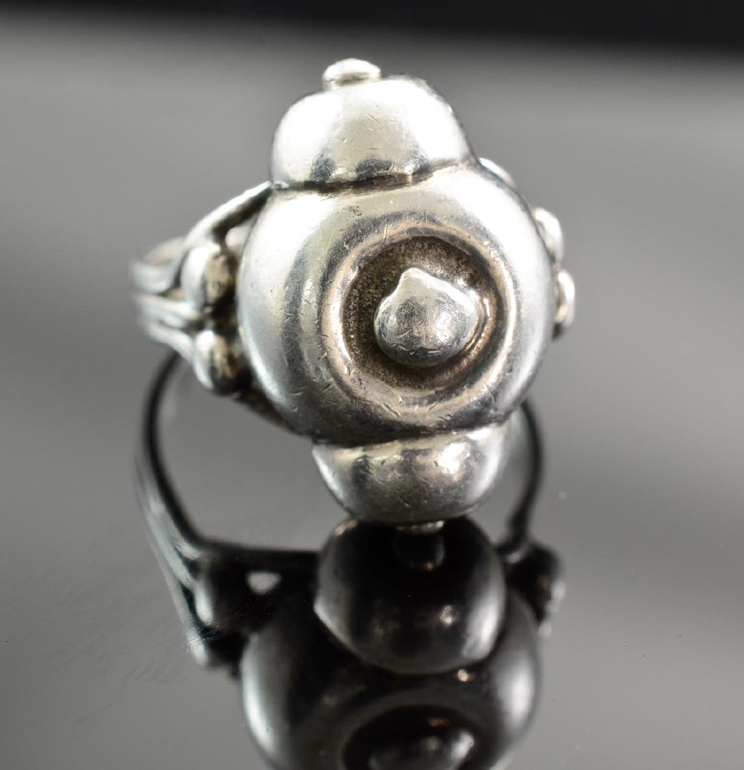 Hector Aguilar Sterling Silver Ring