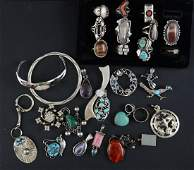 Quality Sterling Silver Jewelry group
