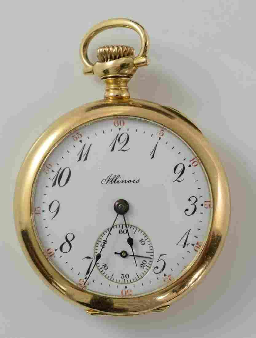 Ladies Open Face Illinois Pocket watch