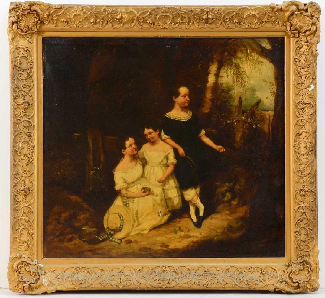Early 19th Century Portrait of Children
