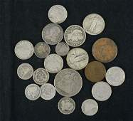 Group of US Type Coins