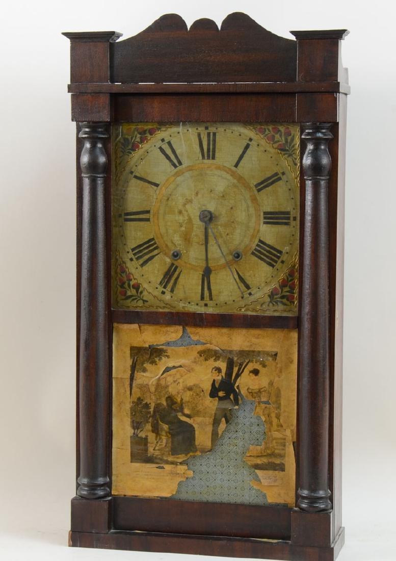 Salem Holman Wooden Works Clock