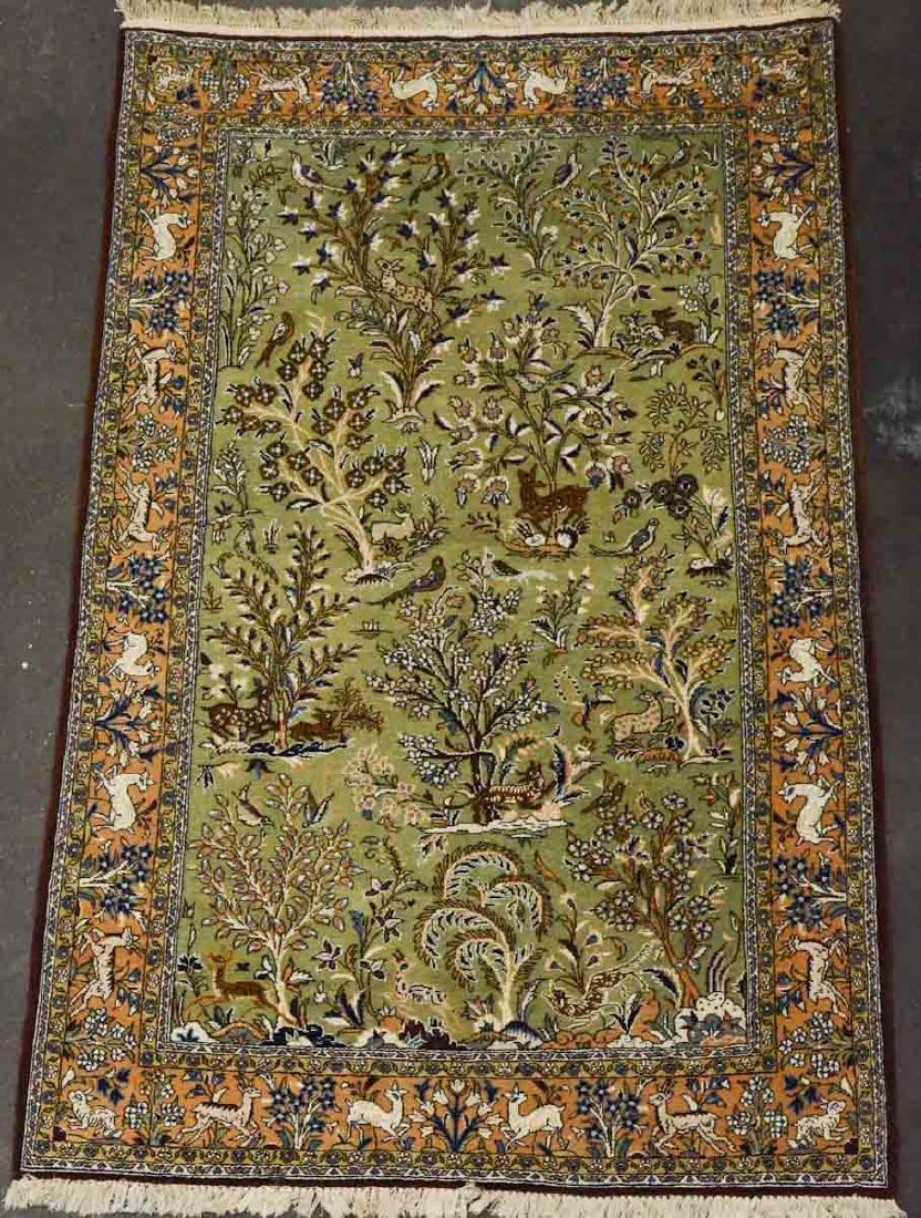 Figural Oriental Rug