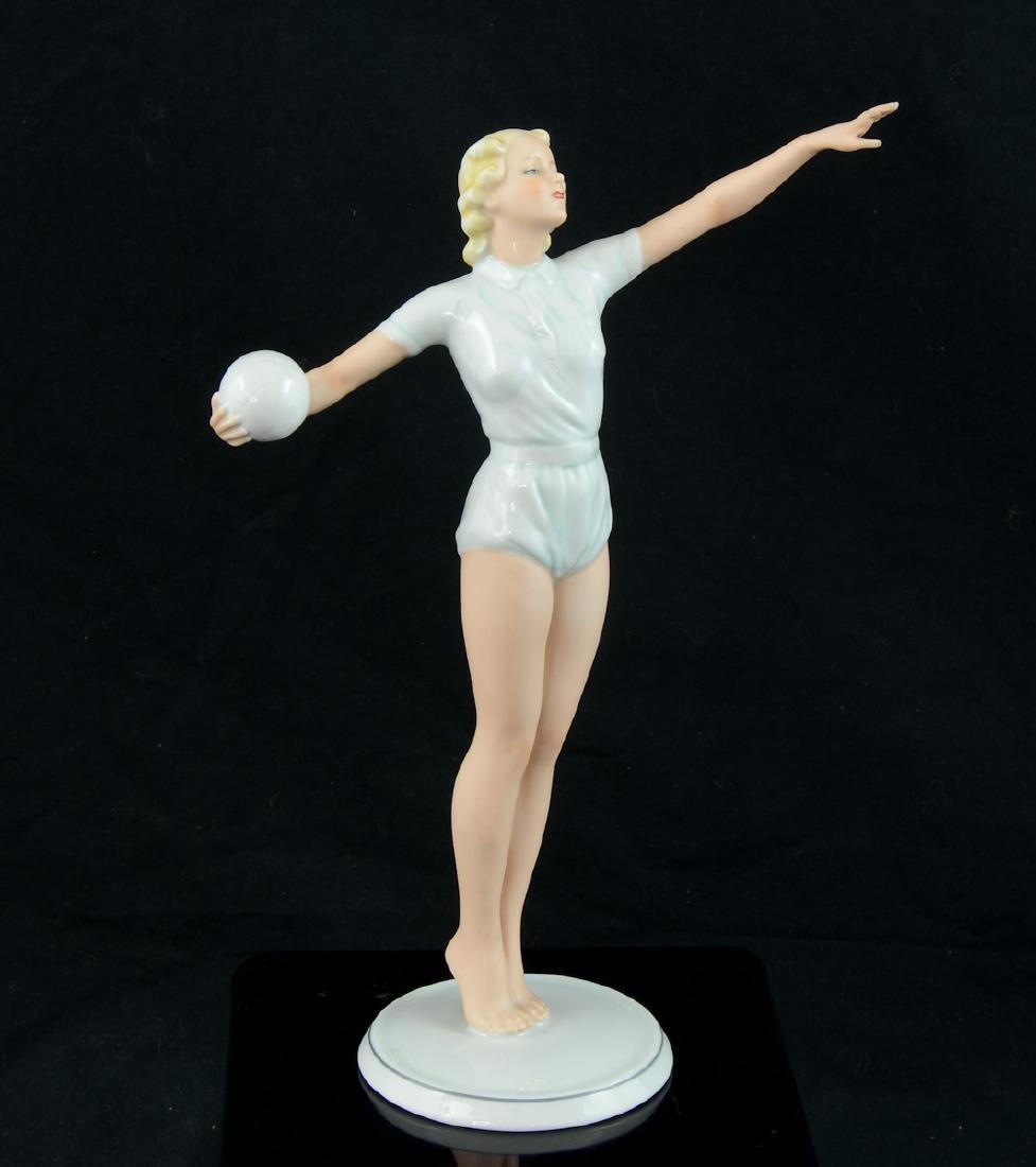 German Porcelain Figurine