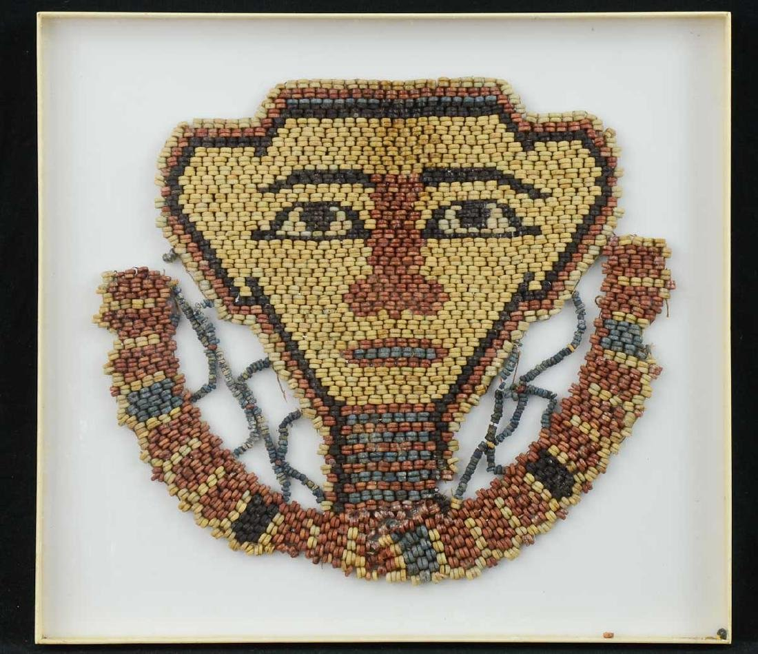 Egyptian Mummy bead face mask