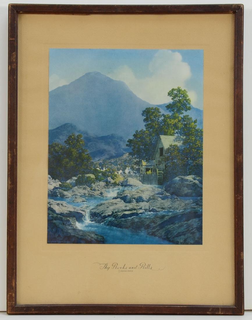 Maxfield Parrish Thy Rocks and Rills