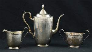 International Sterling Silver Tea Set
