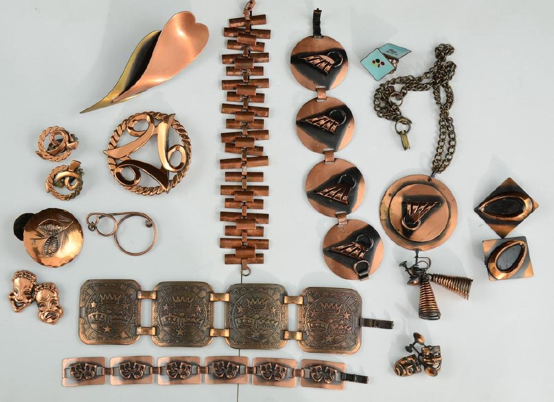 Vintage Copper Fashion Jewelry