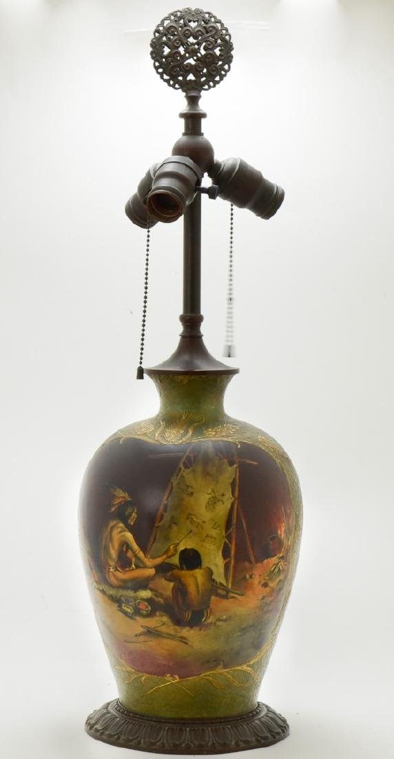 Antique Handelware table lamp