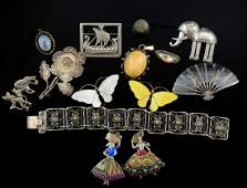 Antique and Vintage Sterling Silver Jewelry