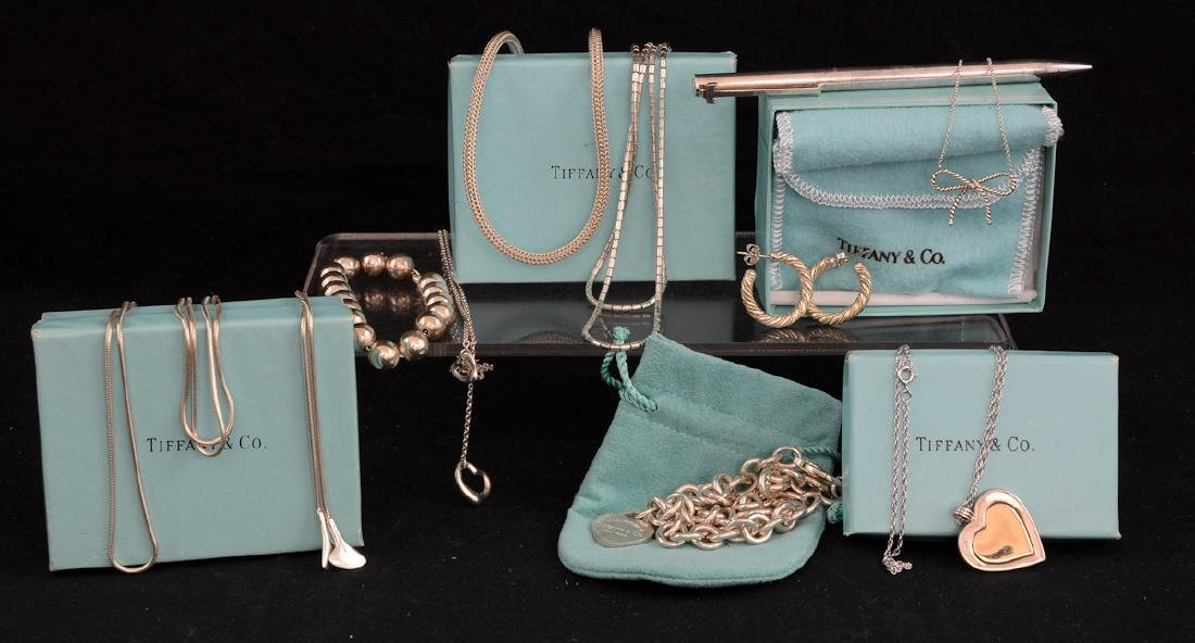 Tiffany & Co. Sterling Silver Group