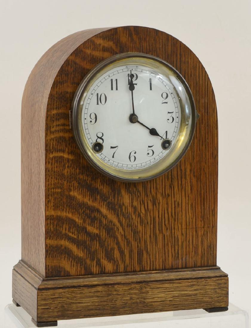 Sessions Oak Beehive Mantle Clock