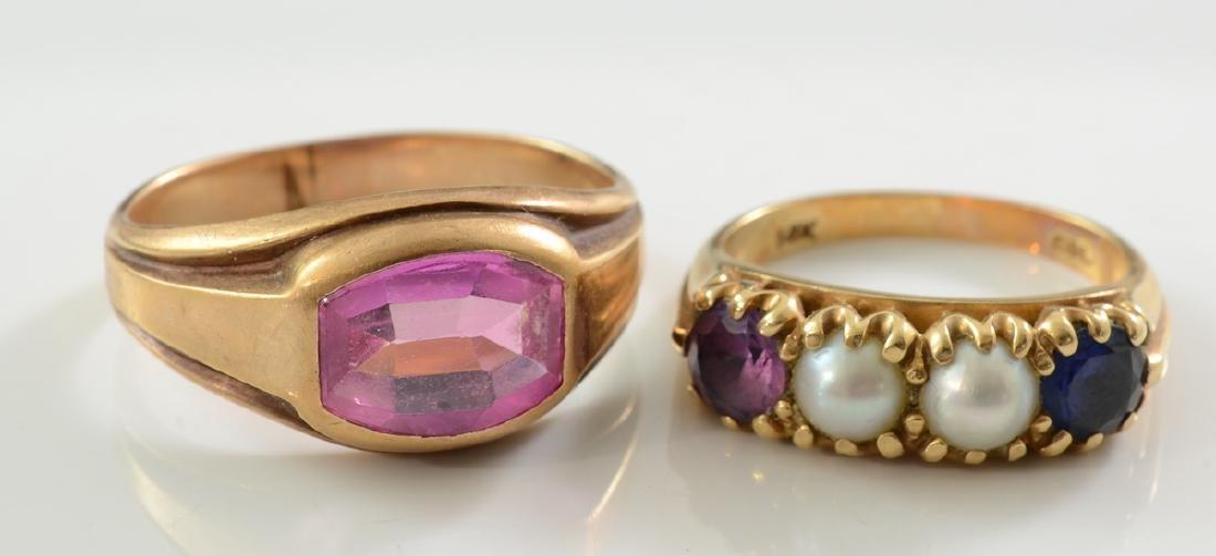 Two Ladies Estate Rings