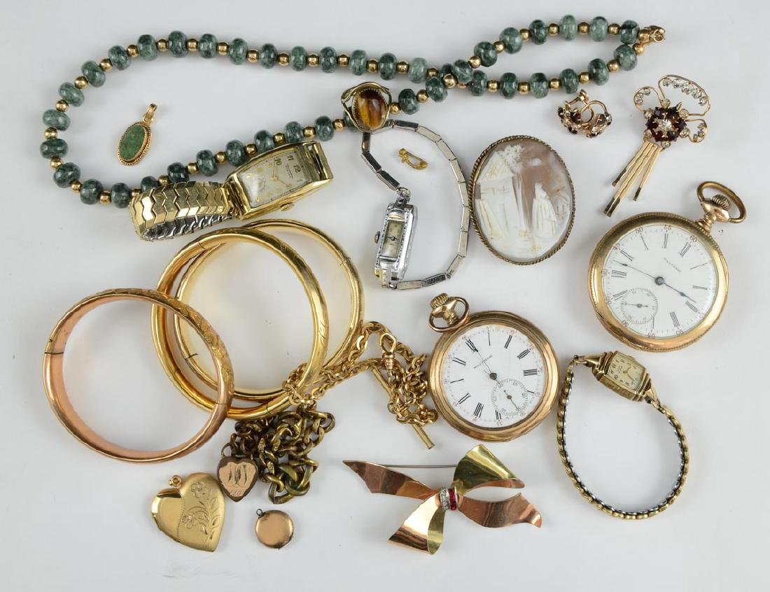 Victorian & Gold filled Jewelry group
