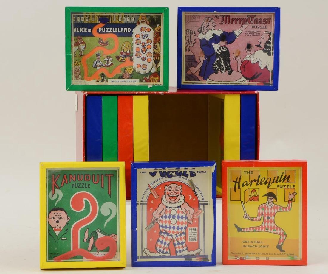 Vintage Puzzle Game Box