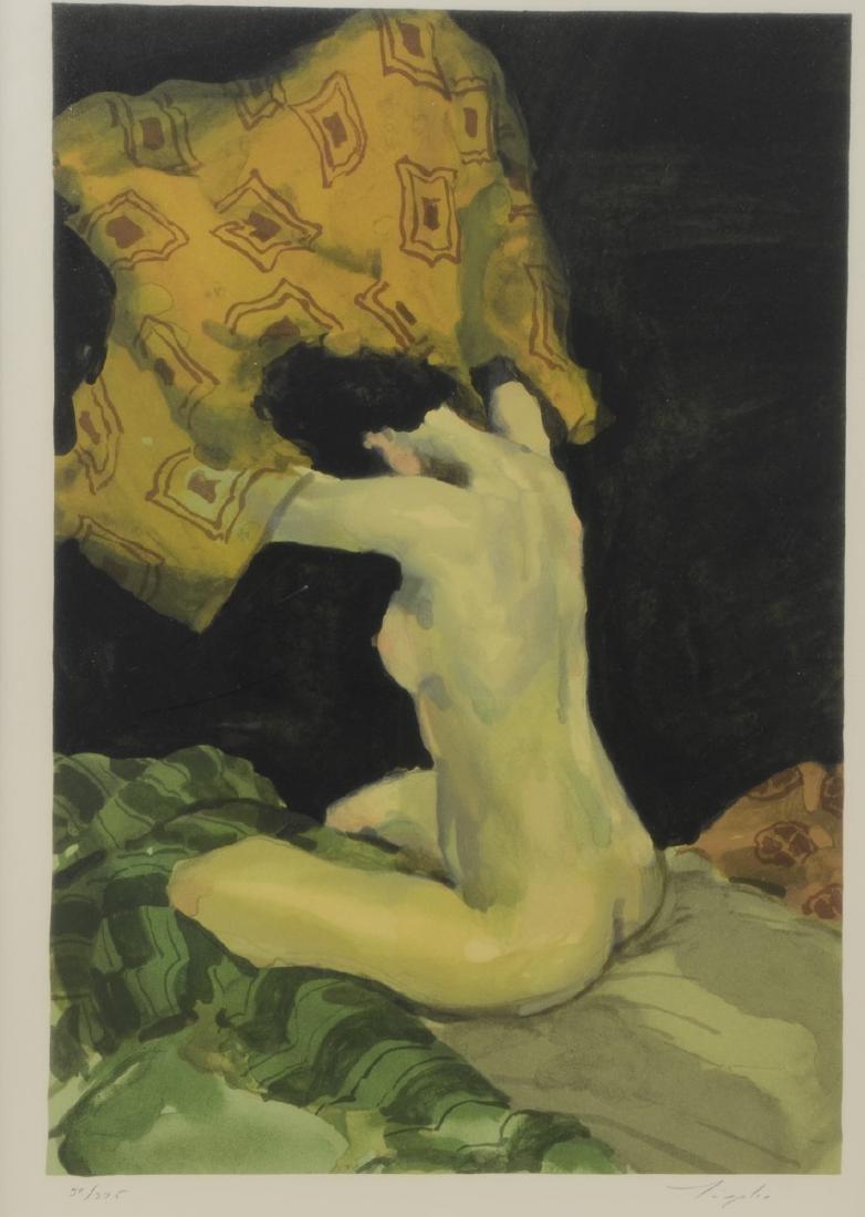 Malcom T. Liepke Seated Nude