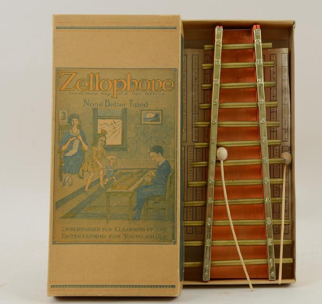 Zellophone Toy Xylophone