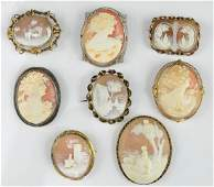 Excellent Antique Cameo Group