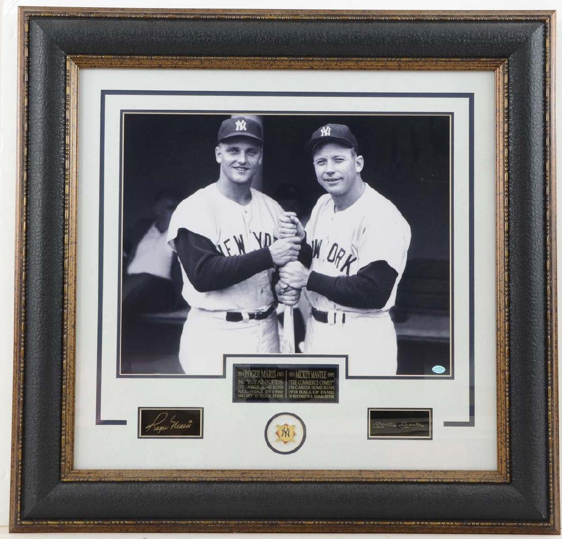 Autographs: Mickey Mantle and Roger Maris