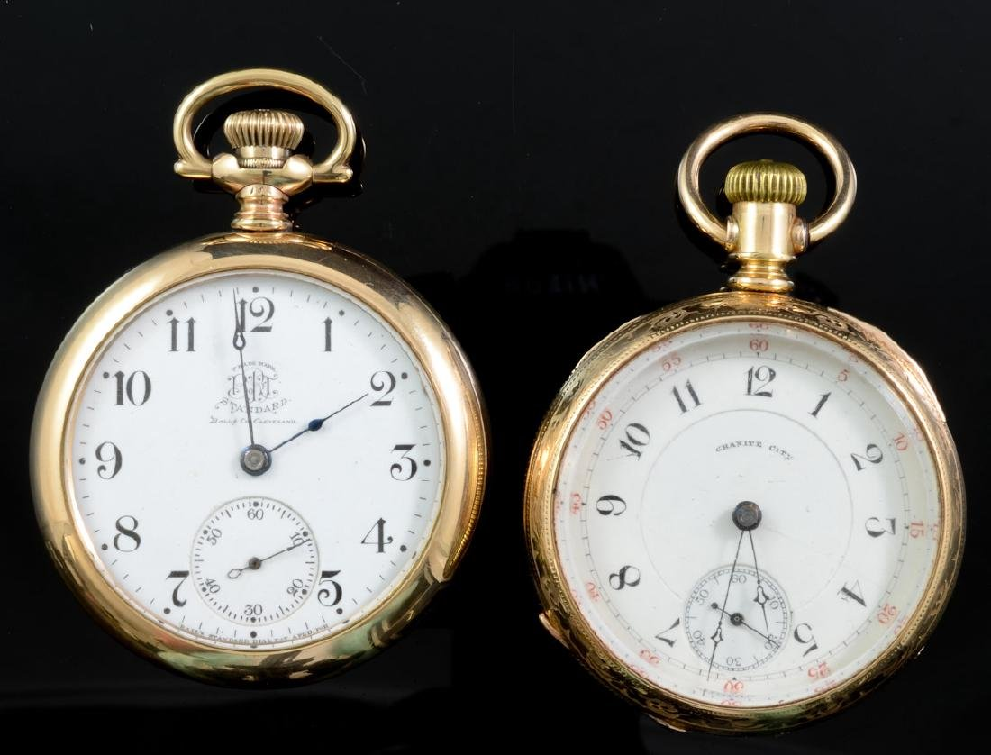 Two Men's Antique Pocket Watches