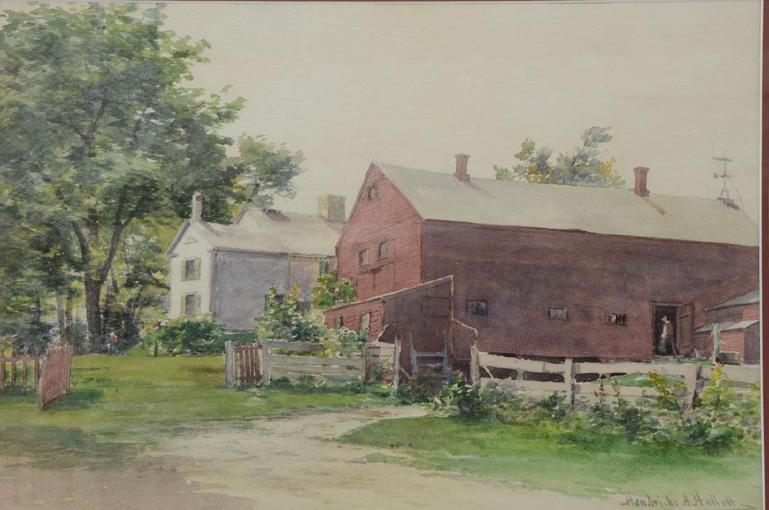 Hendricks Hallett watercolor
