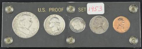 1953 US Silver Proof Set