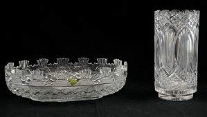 Waterford Crystal Bowl and Vase
