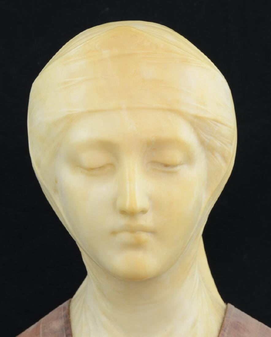 Antique Marble Bust of Beatrice - 2