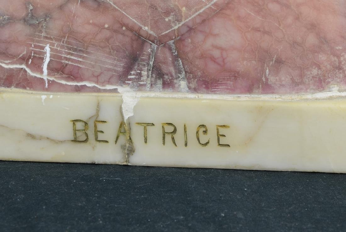 Antique Marble Bust of Beatrice - 3