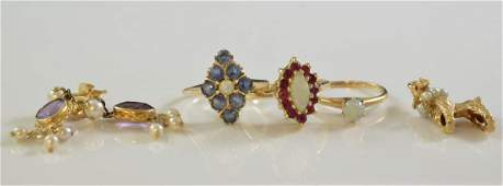 Ladies 14K Gold Estate Jewelry