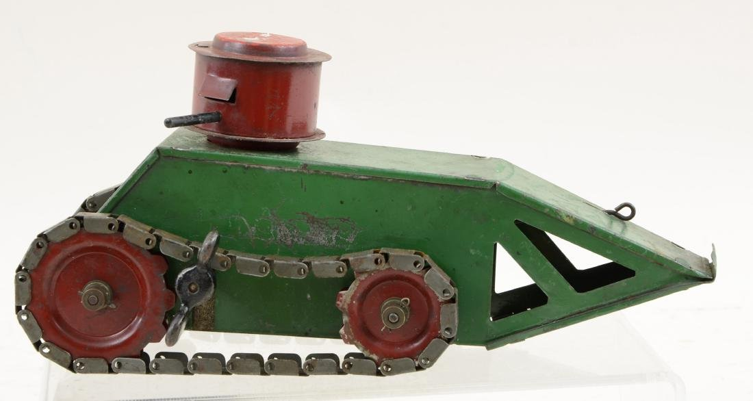 1920's Structo Pressed Steel Whippet Tank