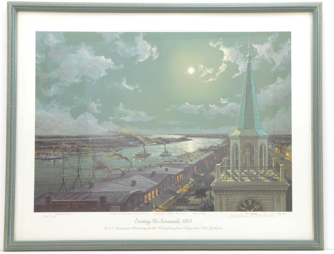 William R. McGrath Evening in Savannah 1864