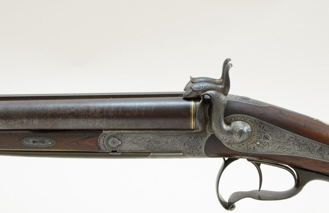 Heinrich Scherping German SxS Rifle/Shotgun