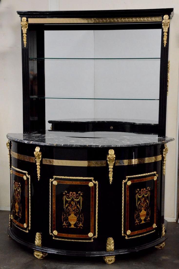 Neoclassical Parcel Gilt Bar