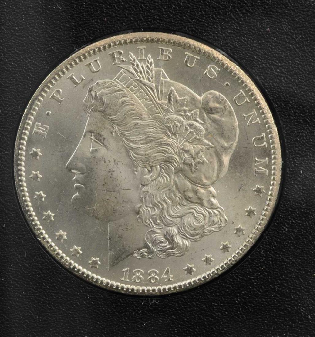 1884-CC GSA Hoard Morgan Silver Dollar