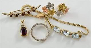 Mixed 14K Estate Jewelry