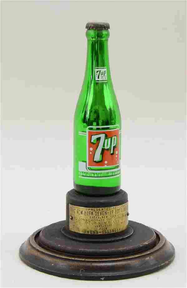 7UP Advertising Presentation Bottle