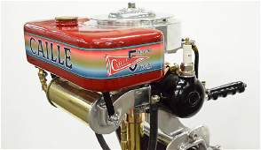 Caille Antique Outboard Motor