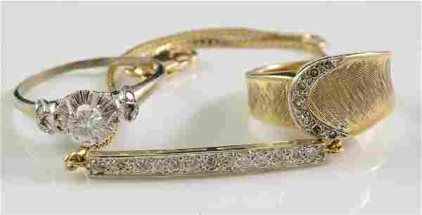 Ladies 14K Diamond Jewelry Group
