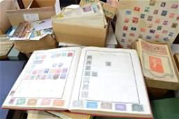 Estate Found Stamp Collection